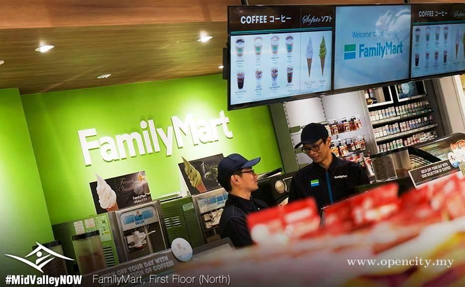 FamilyMart Malaysia @ Mid Valley