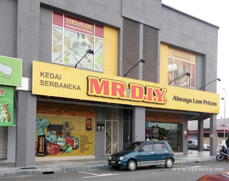 MR DIY @ Pusat Perniagaan Jasin