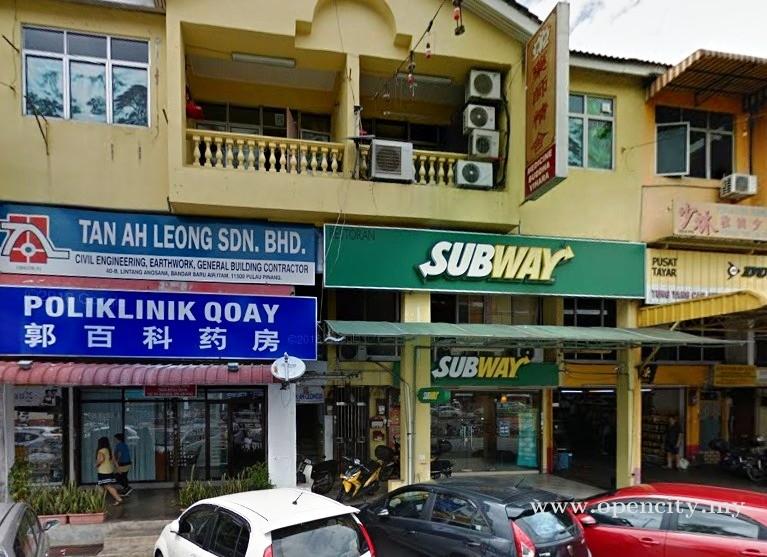 Subway @ Farlim Air Itam