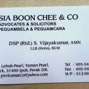 Sia Boon Chee & Co. (Law Firm) @ Ipoh