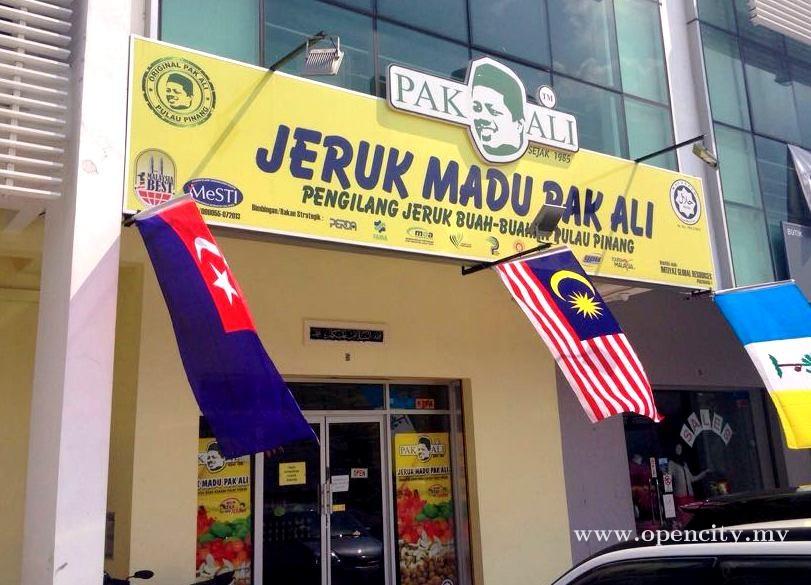 Jeruk Madu Pak Ali @ Johor Bahru