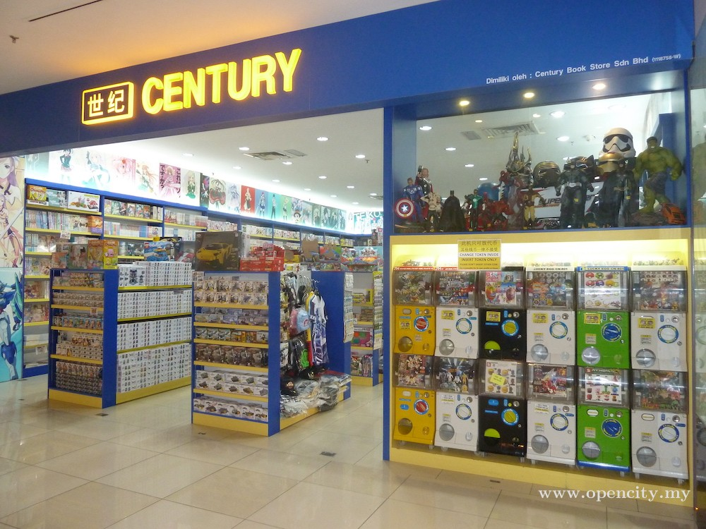 Century Book Store @ Ipoh Parade
