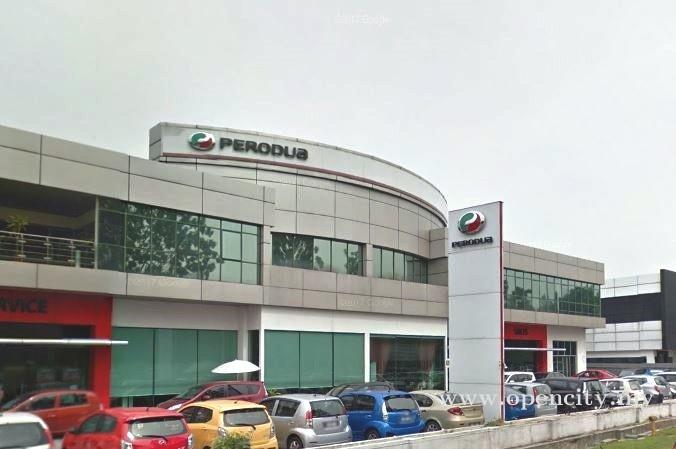 Perodua Service Centre @ Glenmarie - Shah Alam, Selangor
