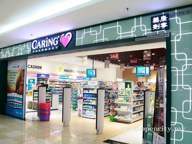 Caring Pharmacy @ Dataran Pahlawan