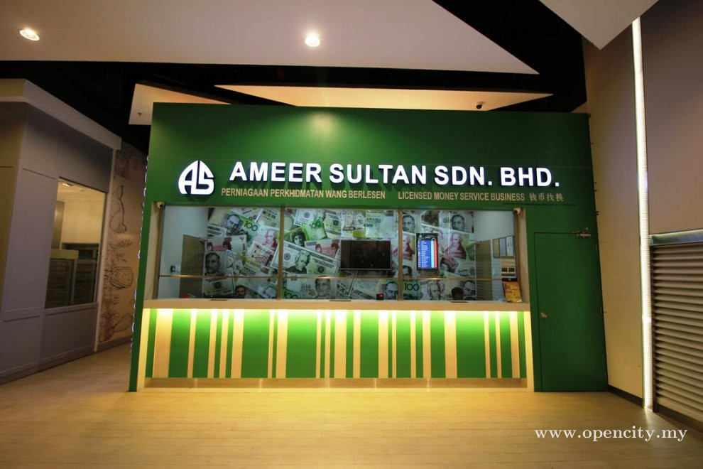 Ameer Sultan Money Changer @ Aman Central