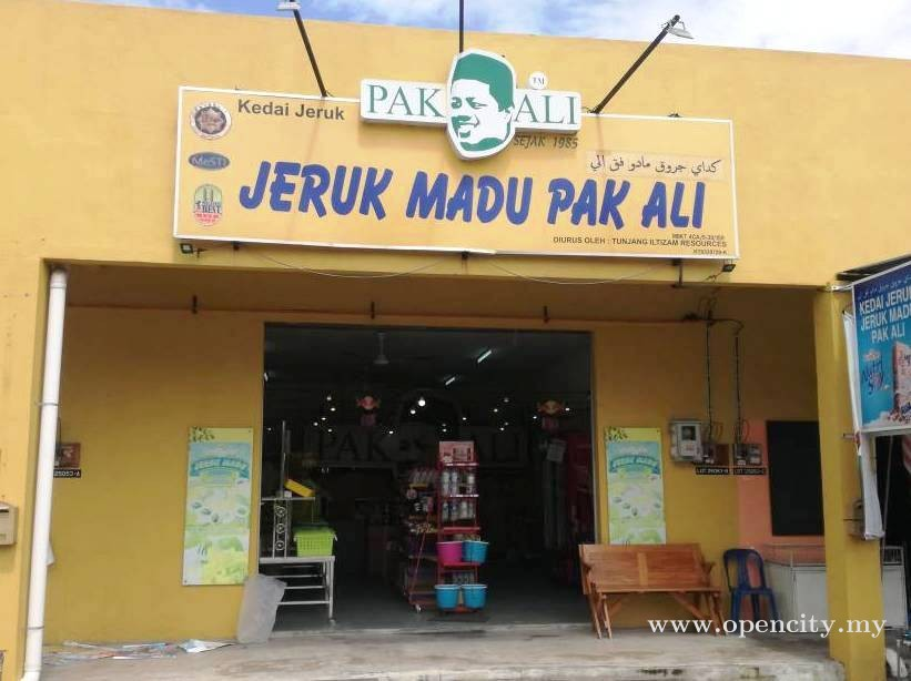 Jeruk Madu Pak Ali @ Kuala Terengganu