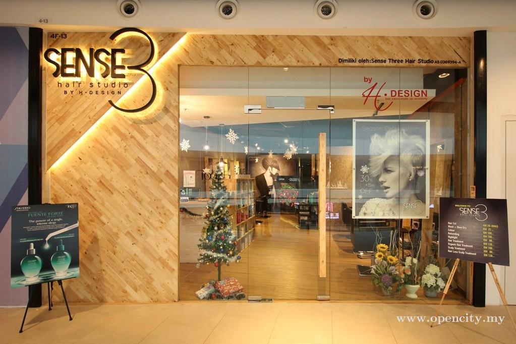 Sense3 Hair Studio by H Design @ Aman Central