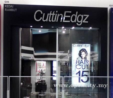 CuttinEdgz @ Aeon Bukit Tinggi