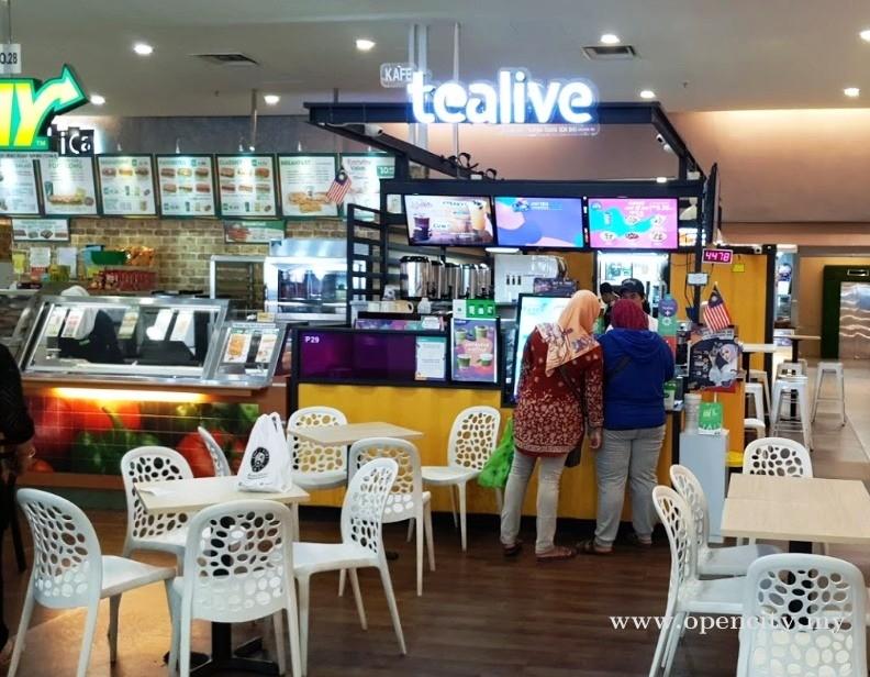 Tealive @ Amanjaya Mall