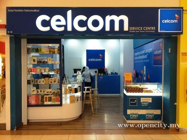 Celcom Service Center @ Sunway Carnival Mall