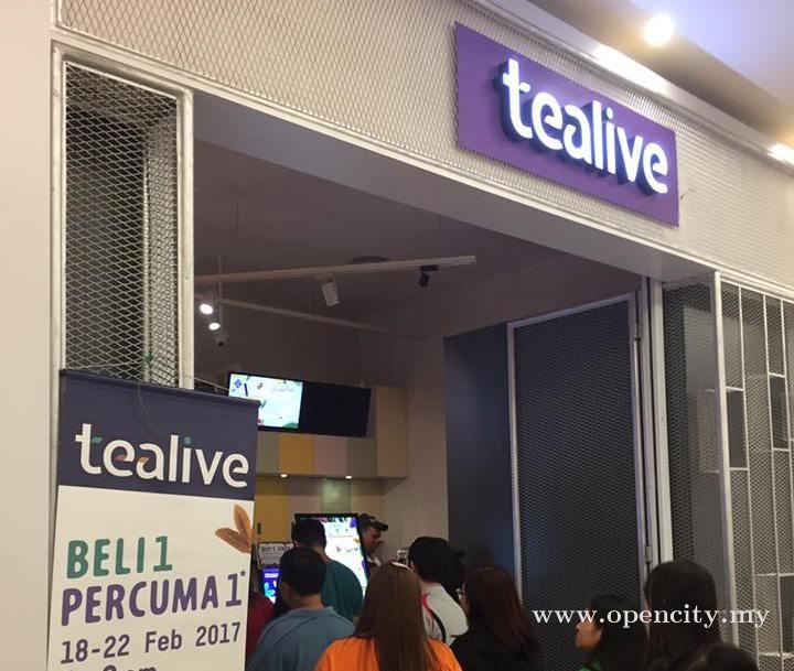 Tealive @ AEON Mall Taiping