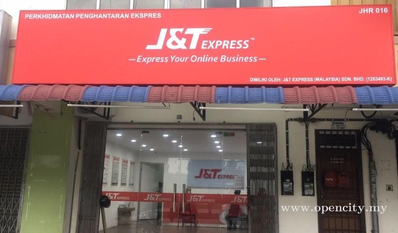 J&T Express @ Pasir Gudang