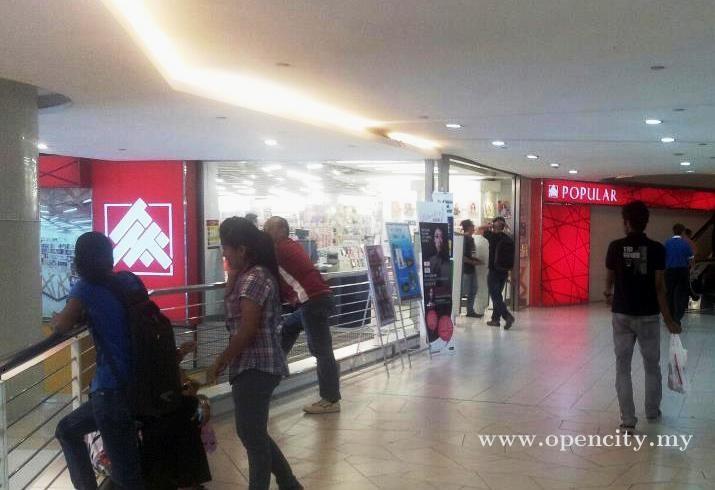 Popular Bookstore Komtar Georgetown Penang