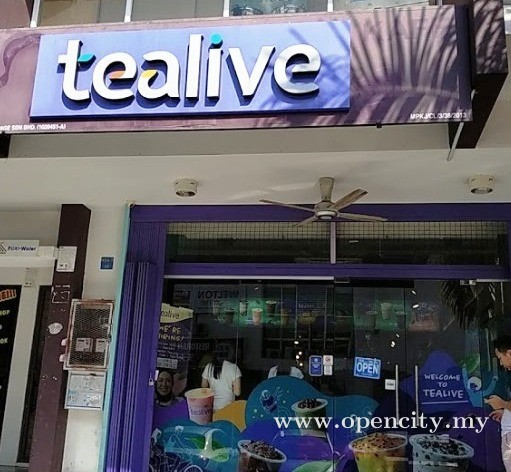 Tealive @ Bandar Mahkota Cheras